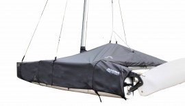 NACRA 14sq - Boat Cover mast up