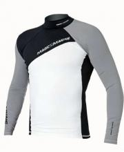 Magic Marine Energy Rash Vest Long Sleeve Gray