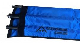 Boom  Cross bar and tiller bag