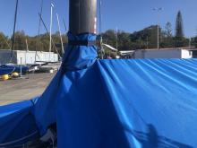 NACRA INFUSION - Mast Up Boat Cover