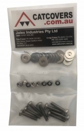 Footstrap Fixing Kit